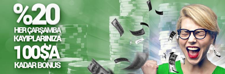 Casino Kayip Bonusu