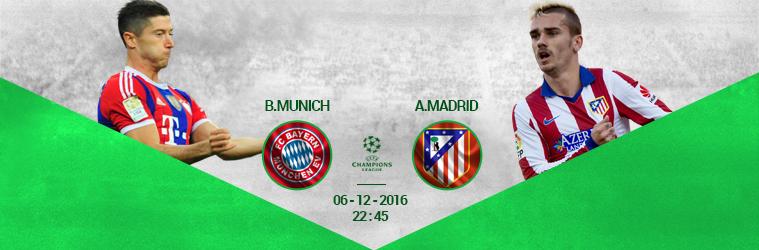 Bayern Munich – Atletico madrid