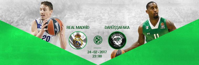 Real Madrid – Darussafaka Dogus