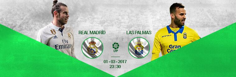 Real Madrid – Las Palmas