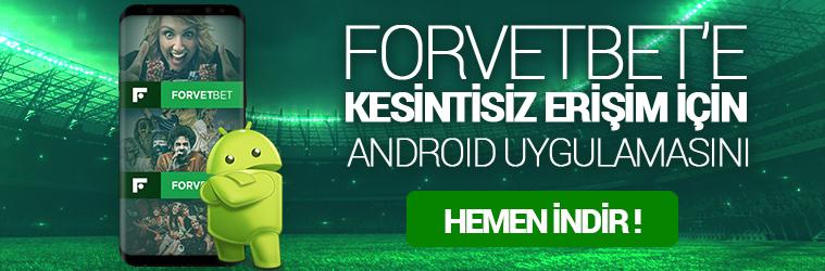 Forvetbet Android Uygulama