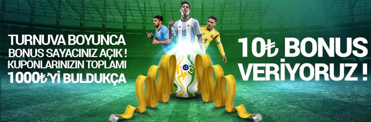 Copa America Bedava Bonus